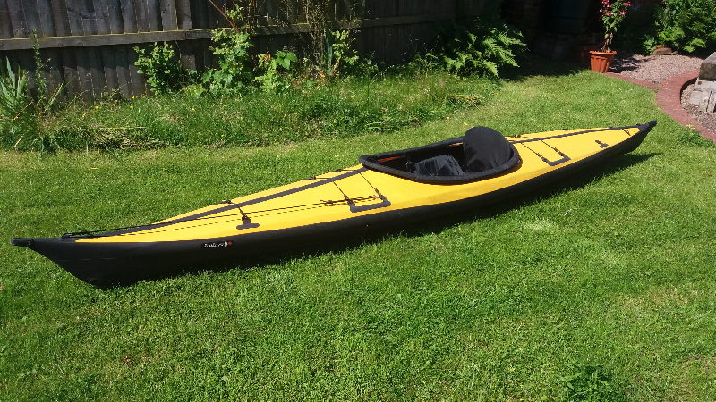 Feathercraft Kurrent folding kayak - The UK Rivers Guidebook