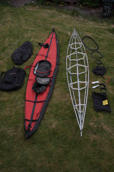 Feathercraft K1 Expedition sea kayak £1000 - The UK Rivers