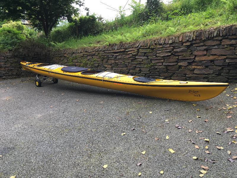 For Sale Valley Aleut 2 Tandem Sea Kayak The Uk Rivers